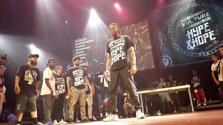 Crazy judge demo by Kefton, Grishka & Robo Z / HYPE & HOPE Festival (hip hop, all styles battle)