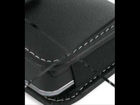 PDair Leather Case for Samsung SGH-D980/SGH-D988 - Horizontal Pouch Type (Black)