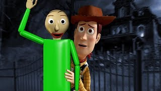 Woody from Toy Story & Baldi Enter A Haunted Resort! - Garry's Mod Gameplay - Gmod Roleplay