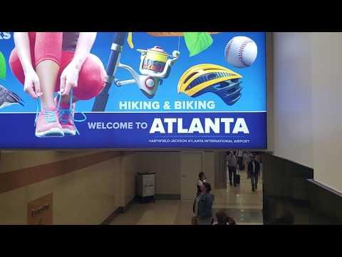 Hartsfield-Jackson Atlanta International Airport Terminal Tour