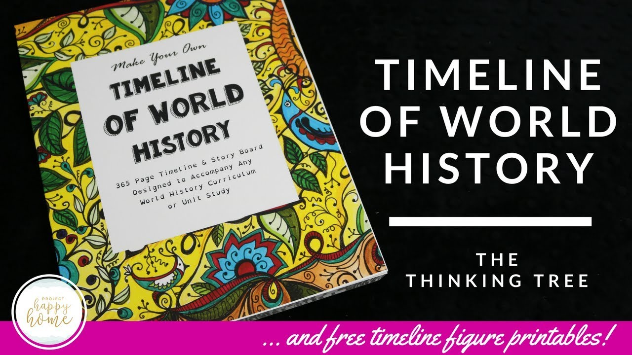 photo about Printable History Timeline identify CHARLOTTE MASON TIMELINE and No cost PRINTABLES Wondering Tree Timeline of World wide Background