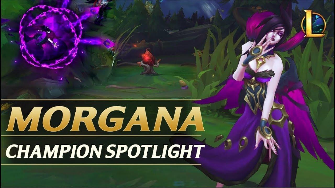 photos officielles 677c5 7516f MORGANA REWORK CHAMPION SPOTLIGHT GUIDE - League of Legends