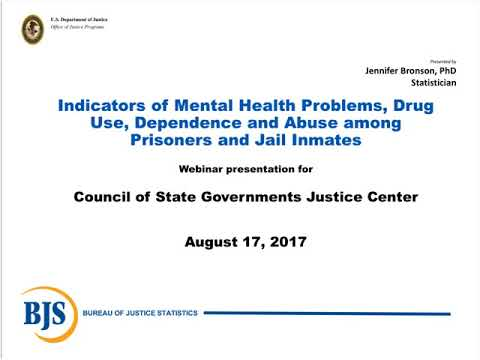 National Findings on the Mental Illnesses and Substance Use of People Incarcerated in Prison