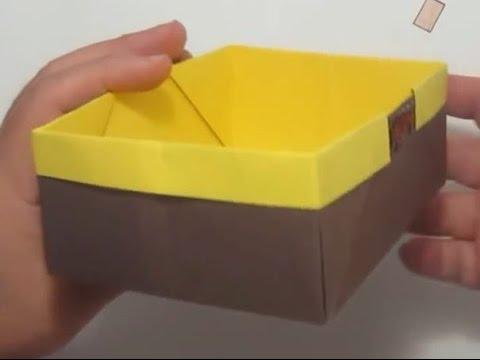 How to Fold a Traditional Origami Box - Masu Box   360x480
