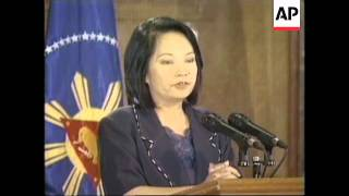 PHILIPPINES: ARROYO TO ORDER CEASEFIRE