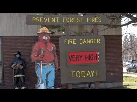 """Burning Restricted As Fire Danger Rises To """"Very High"""" In Bemidji"""