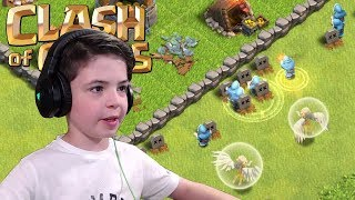 WIZARD & HEALER OP ? - Clash of Clans