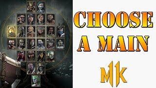 Mortal Kombat 11 - How to choose your main character in MK11!