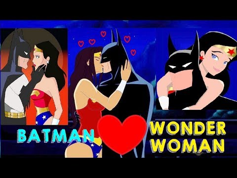 BATMAN & Wonder Woman Romantic Moments || Justice League & Justice League Unlimited TV Series ||