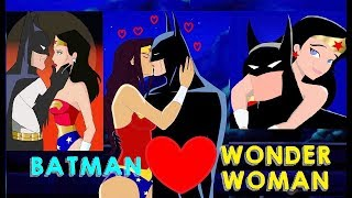 BATMAN & Wonder Woman Romantic Moments