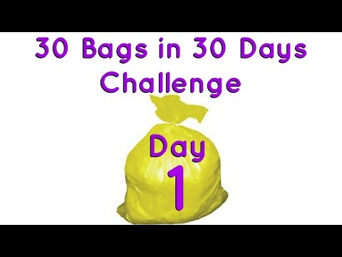 30 Bags in 30 Days Challenge - Day 1