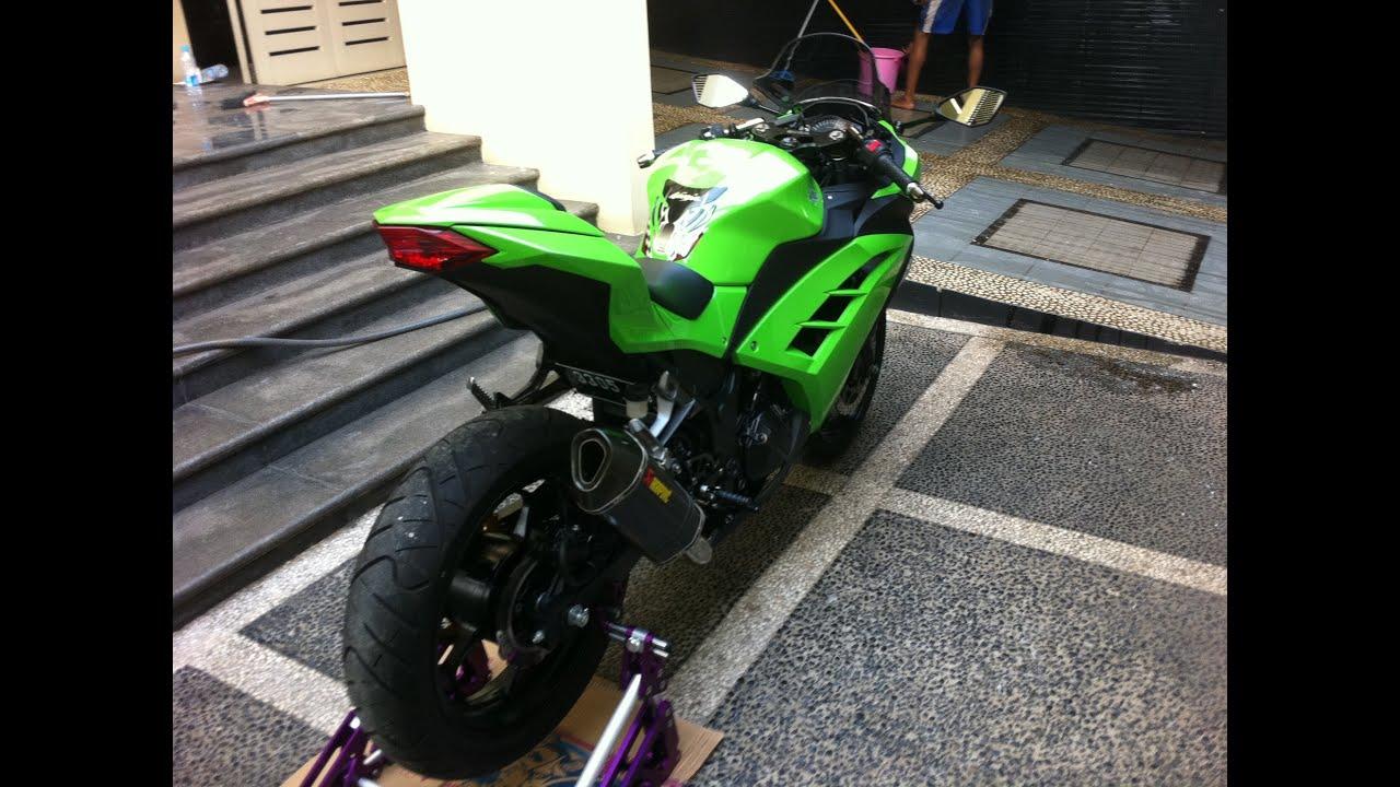 Akrapovic Ninja 250 Fi 2013