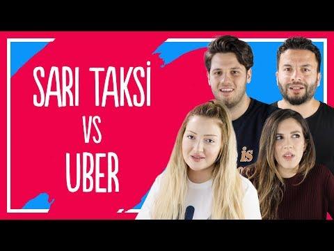 Uber mi Sarı Taksi mi? - Danla Bilic, Tatlıcı, Melodi Elbirliler, Hakkı Alkan ve Tuğba Tunçkaya