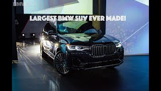 World Premiere: BMW X7 and the largest BMW kidney grill ever!