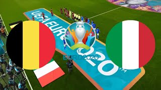 БЕЛЬГИЯ ИТАЛИЯ 1 2 обзор матча ЕВРО 02 07 2021 ФУТБОЛ 1 4 ФИНАЛА ОНЛАЙН МАТЧ прогноз