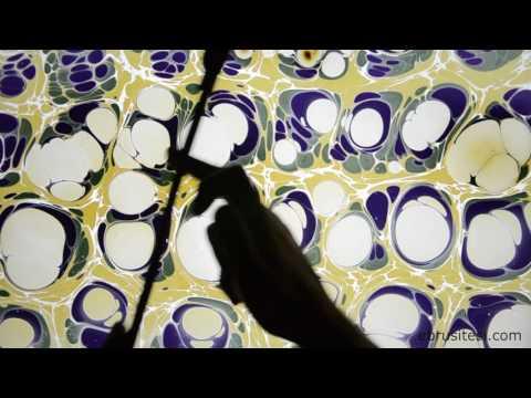 Ebru Sanatı - Kubilay Eralp Dinçer - Taraklı Ebru - 1080p