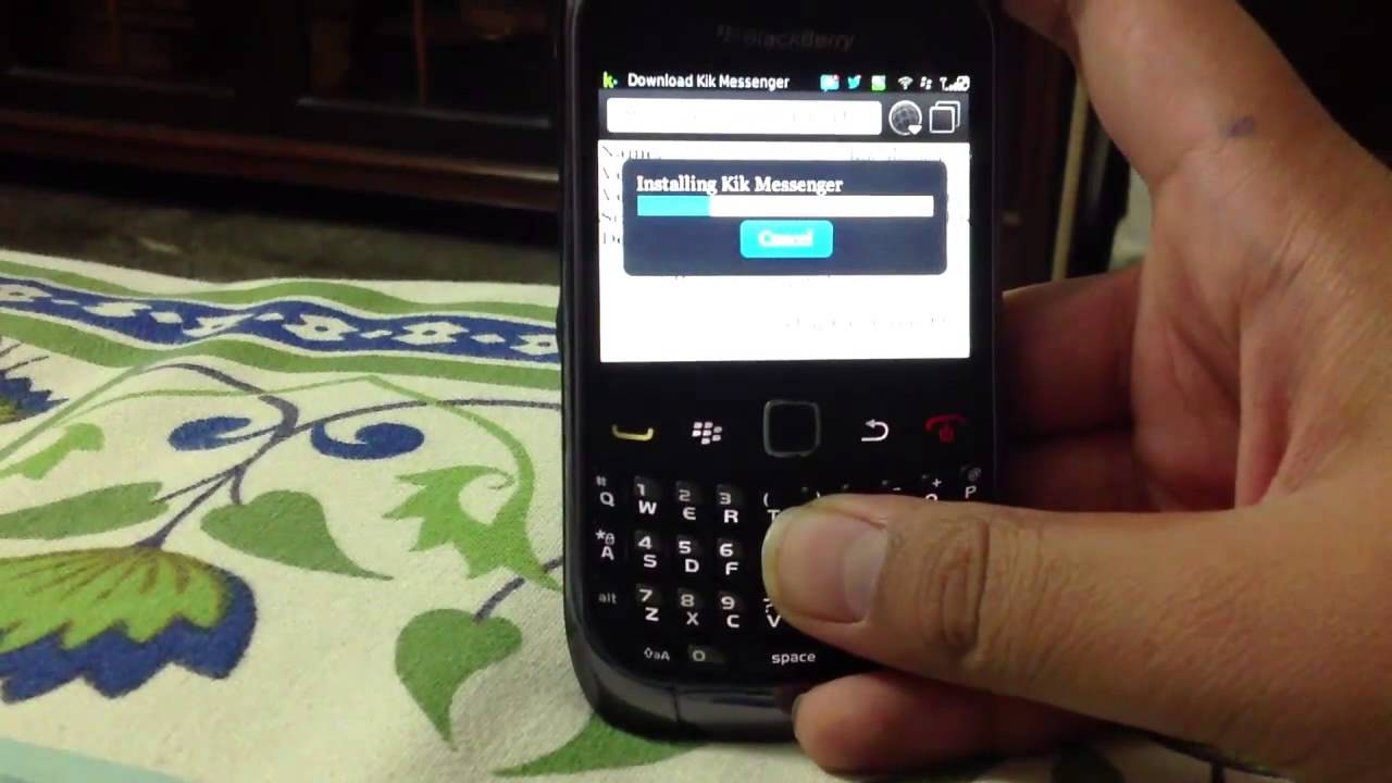 How to download kik messenger on blackberry youtube ccuart Gallery