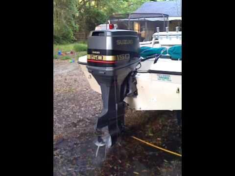 suzuki dt150 outboard - youtube