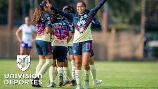 América quitó el invicto a Pumas y aseguró su clasificación a Liguilla en la Liga MX Femenil