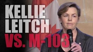 "Kellie Leitch: ""Freedom of speech is not"