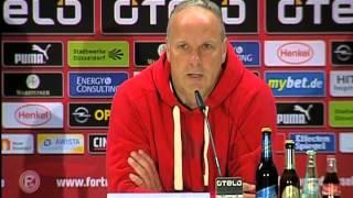 Fortuna Düsseldorf 3:1 VfR Aalen Pressekonferenz