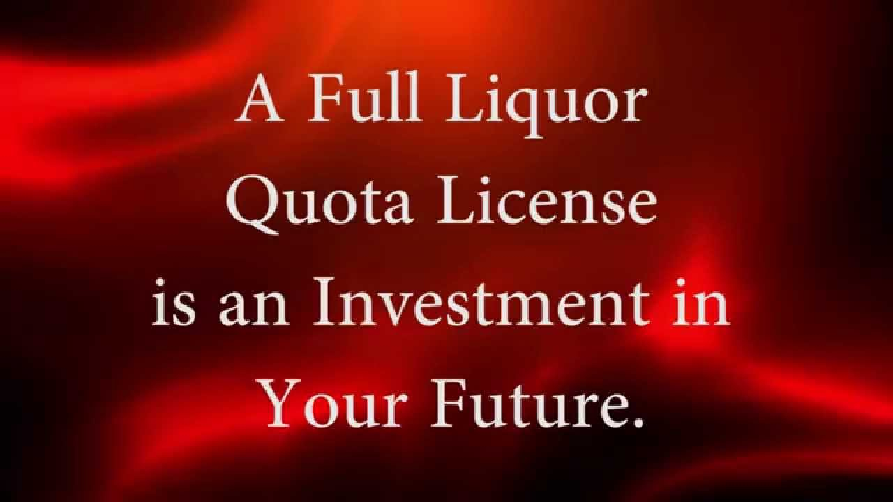 how to get liquor licence qld