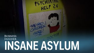 Exploring an abandoned insane asylum