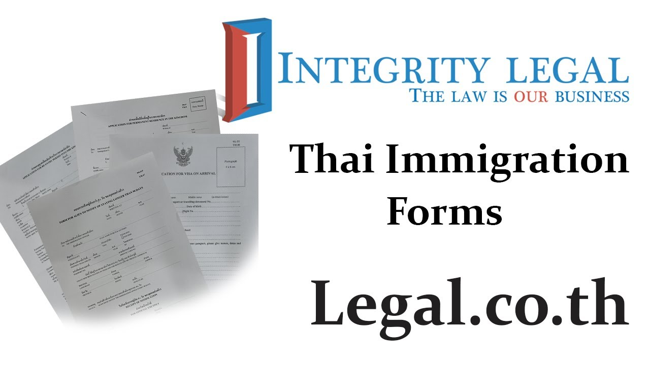 Thai Retirement Visa Application Form Download