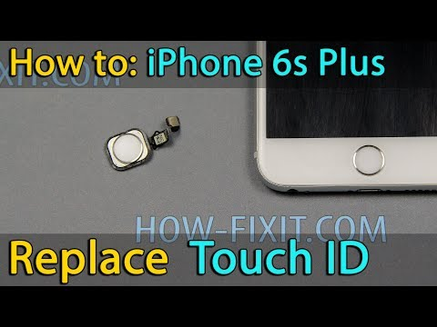 iPhone 6s Plus home button - Touch ID replacement