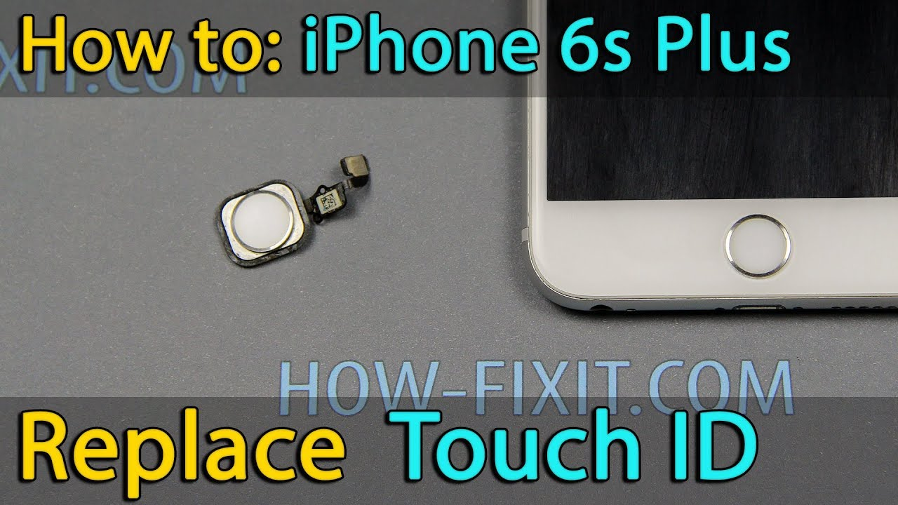 huge discount 9260f ae560 iPhone 6s Plus home button - Touch ID replacement