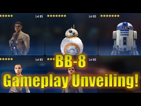 Star Wars Galaxy of Heroes: BB8 Gameplay Character Unveiling! Droid Reworks Coming Soon?