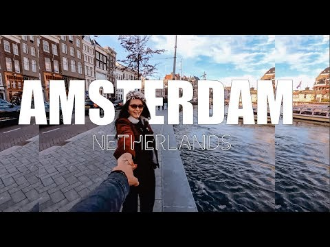 Weekend in Amsterdam 4K | GoPro Hero 7 Travel Video (2019)