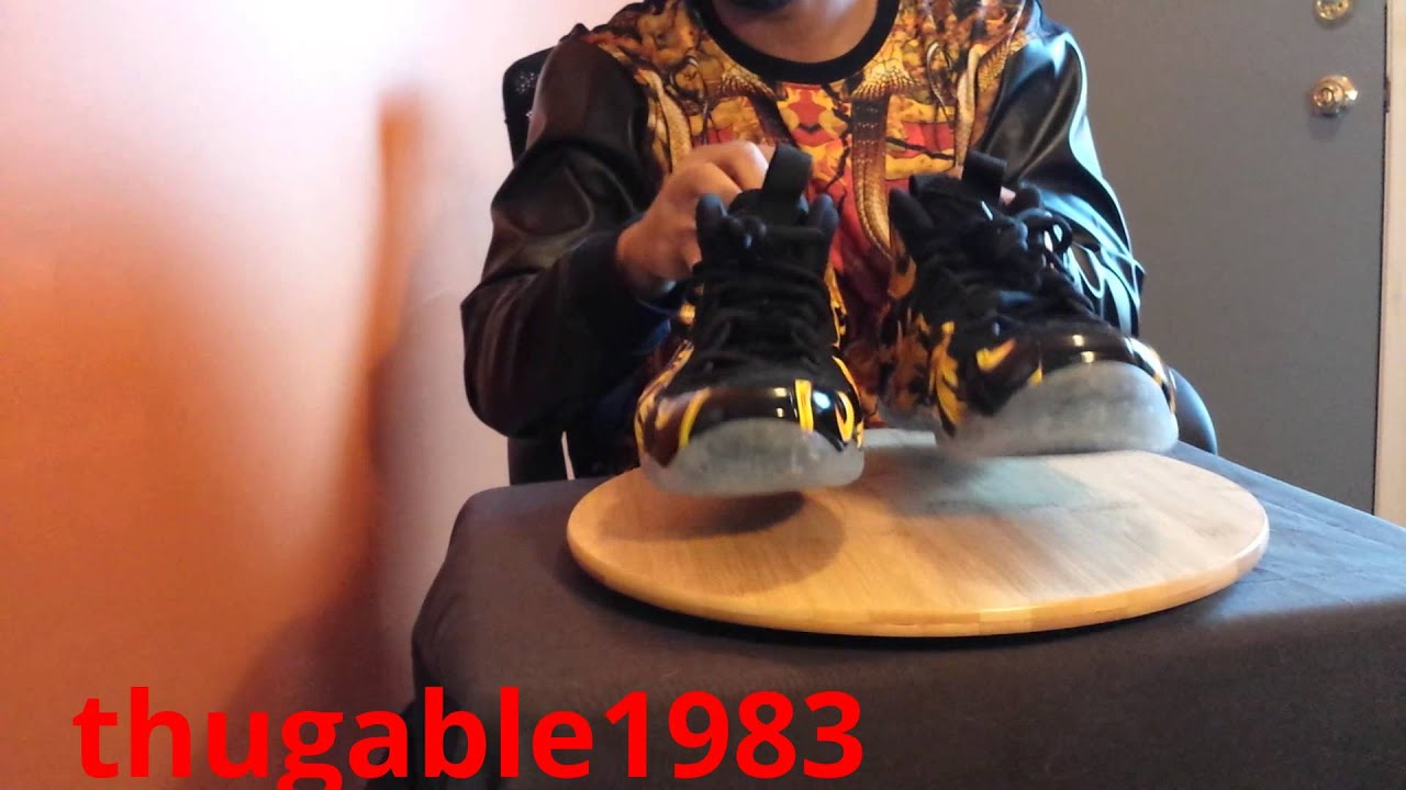 41e038b6177 nike air foamposite supreme x  black  Youtube first real review!!!yeezus