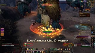 Max Camera Distance - World of Warcraft - Legion PrePatch 7.0.3. [July 2016] Fix on the description