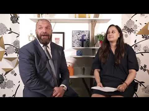 Triple H Facebook Live interview from Mumbai, India | WWE | WWE INDIA | WWE LIVE INDIA 2017
