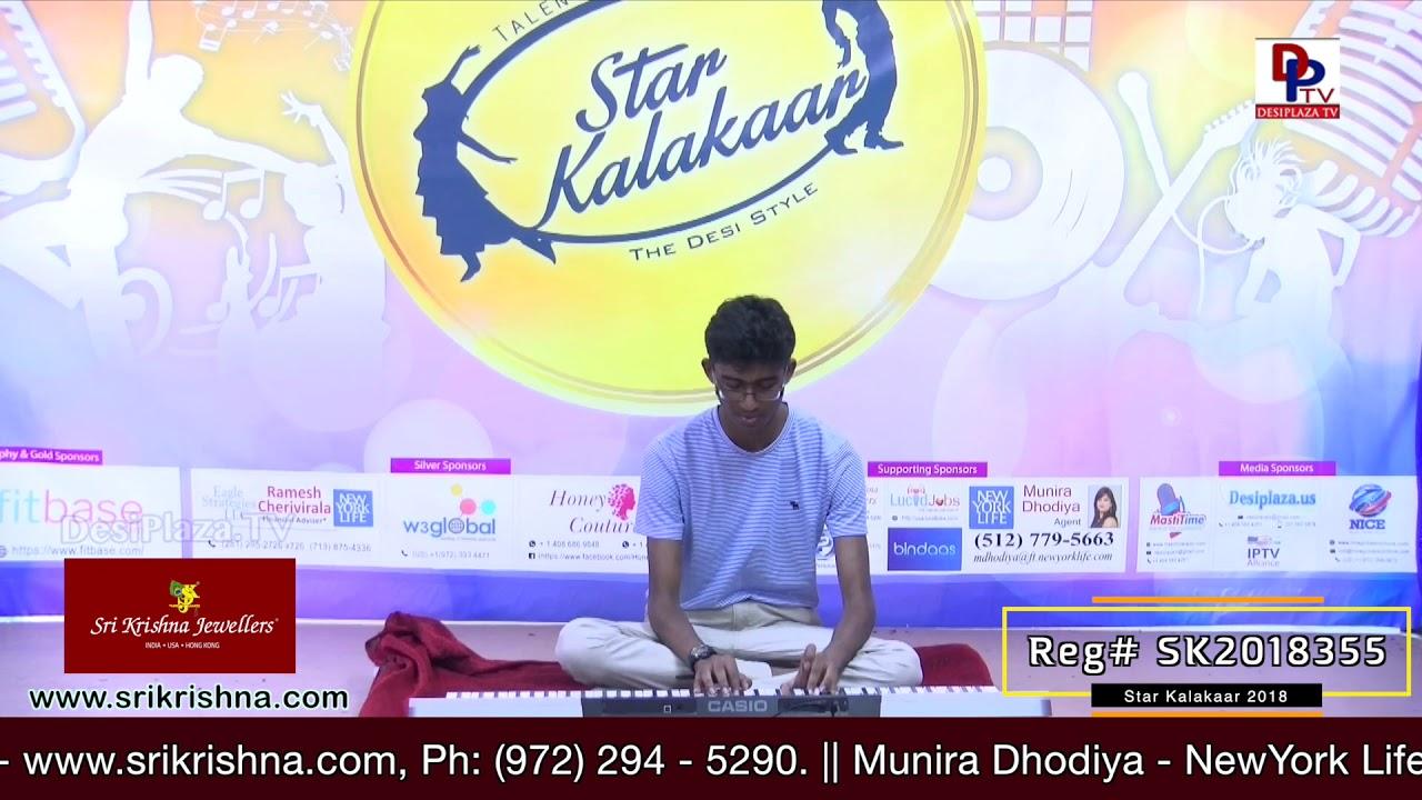 Participant Reg# SK2018-355 Performance - 1st Round - US Star Kalakaar 2018 || DesiplazaTV
