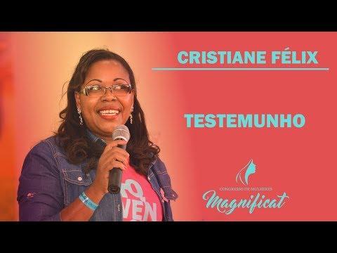 Cristiane Félix - Testemunho Cura do câncer e início da missão com mulheres enfermas.