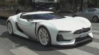 Citroen GT start up + HUGE sounds !!!