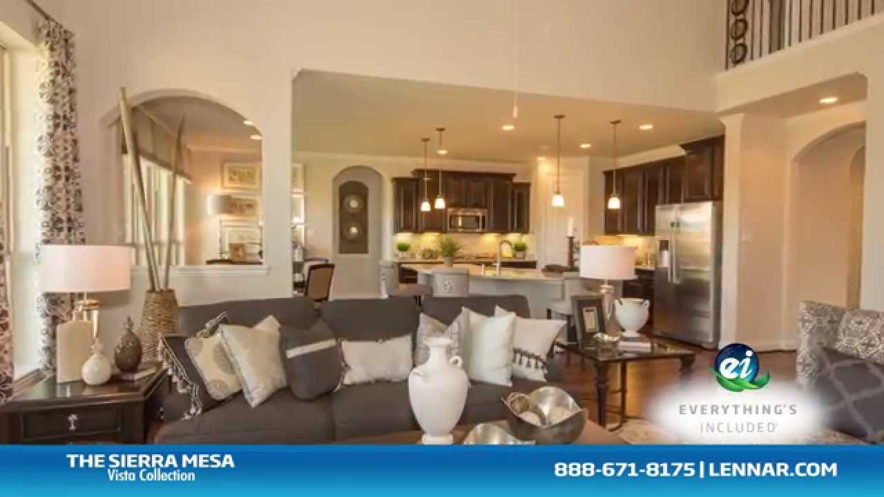 The Sierra Mesa Model New Home Tour Lennar Houston Youtube