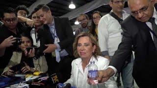 Sandra Torres gana la primera vuelta presidencial en Guatemala