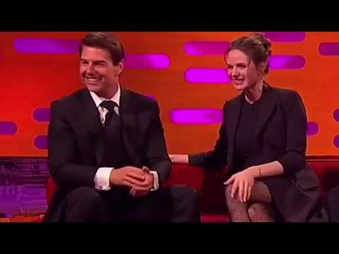 Rebecca Ferguson and Tom Cruise ❤️