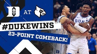 Download Duke Basketball: Historic Comeback at Louisville! (2/12/19) Mp3 and Videos