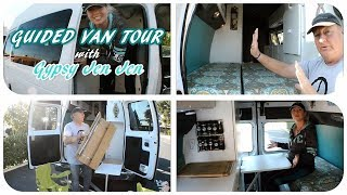 VAN TOUR: Solo Female Full Time Van Dweller