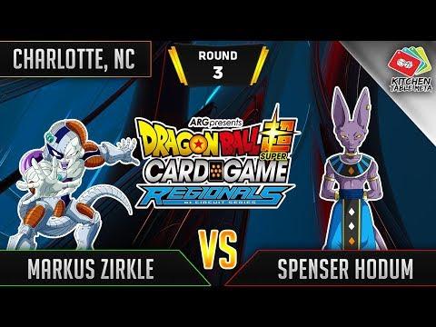 Dragon Ball Super Card Game Gameplay [DBS TCG] Charlotte Regional Round 3