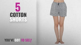 Top 10 Cotton Shorts [2018]: Clovia Cotton Rich Printed Boxers Shorts