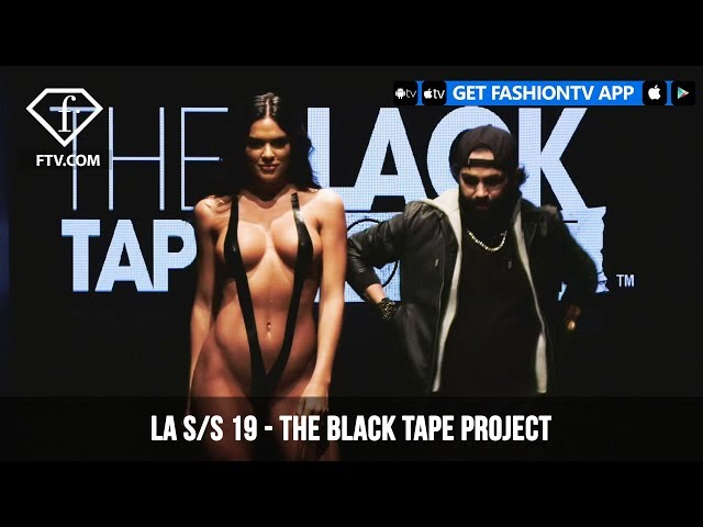 FTV Presents  The Black Tape Project at LAFW S/S 19 Art Hearts Fashion | FashionTV | FTV