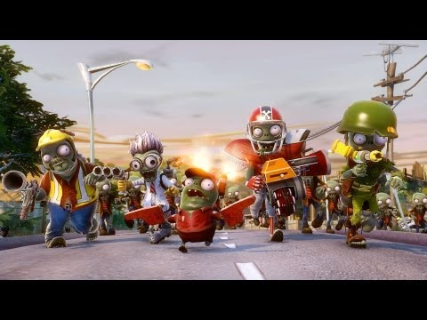 Plants vs. Zombies Garden Warfare 2013 Zombie Class Reveal