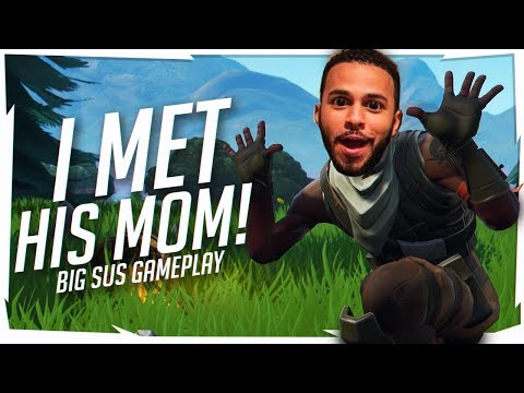 I MET HIS MOM! WHOLESOME DUO FILL - BIG SUS (Fortnite Battle Royale)