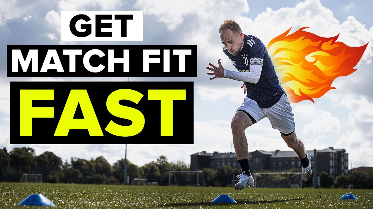 5 drills to get in GREAT football shape