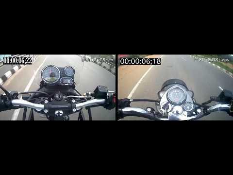 2017 | Himalayan 411cc VS Bullet Standard 500cc | Acceleration Test
